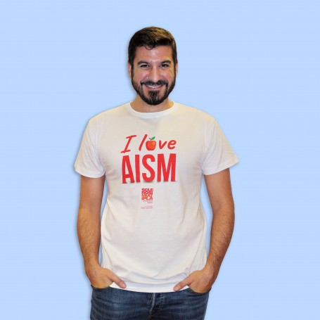 T-shirt Uomo - I love AISM