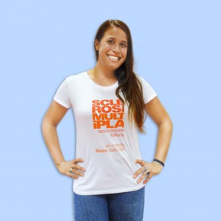 T-shirt Donna - Logo AISM