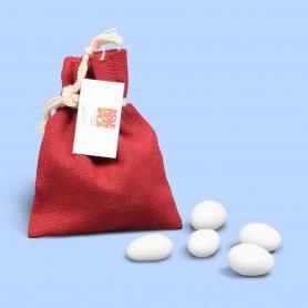 Sacchettino Porta Confetti Rosso