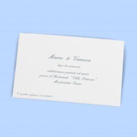 Inviti al Ricevimento - Linea Classica