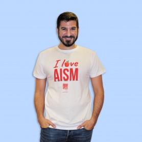 T-shirt Uomo - I love AISM