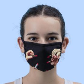 Mascherine Toiletpaper Loves Seletti - Lipsticks Black